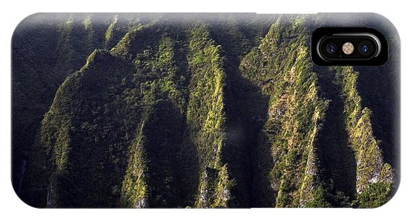 Koolau Range, Oahu IPhone Case