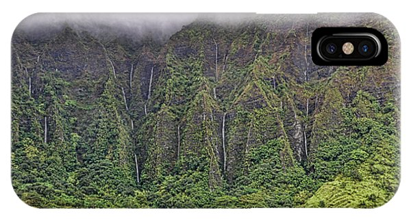 Ko'olau Waterfalls IPhone Case