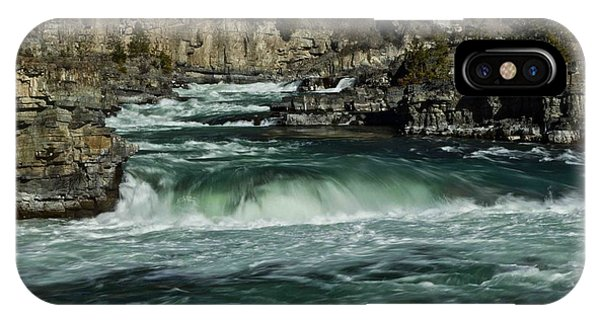 Kootenai Falls, Montana 2 IPhone Case