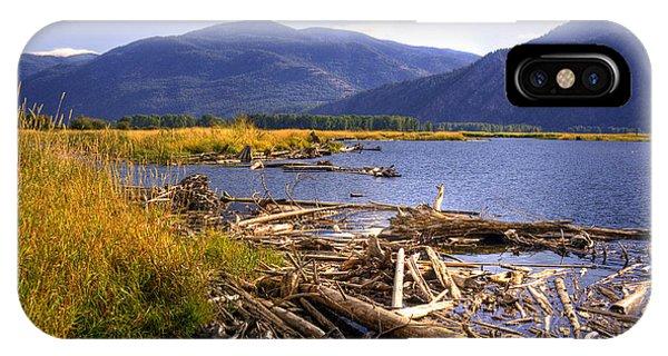 Kootenai Lake Bc IPhone Case