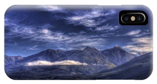 Kootenai Lake Bc Version 2 IPhone Case