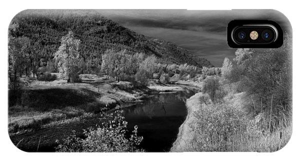 Kootenai Wildlife Refuge In Infrared 3 IPhone Case
