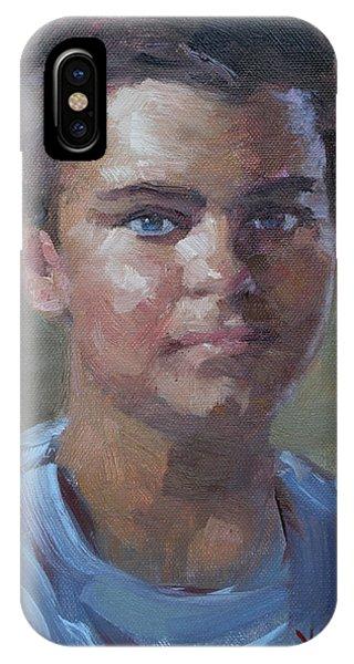 Boys iPhone Case - Kostandinos by Ylli Haruni