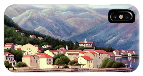 Kotor Montenegro IPhone Case