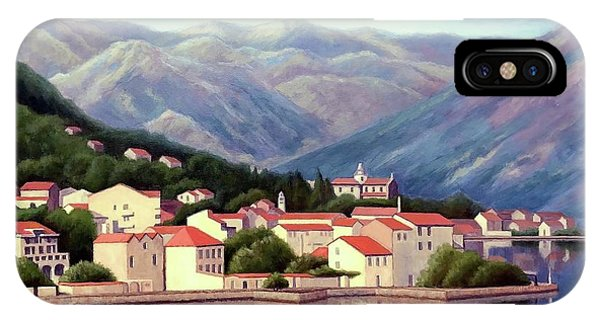Kotor Montenegro IPhone Case