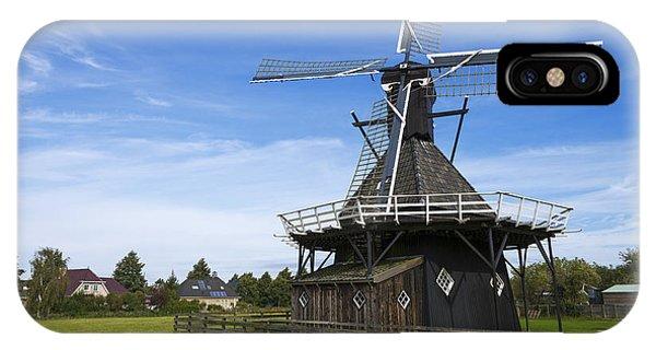 Windmill iPhone Case - Koudum Molen by Chad Dutson