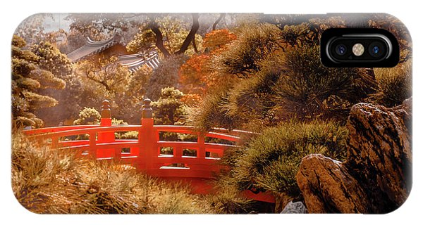 Kowloon - Red Bridge IPhone Case