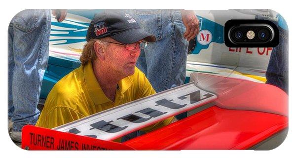 Kraig Johnson Driver Mechanic Raconteur IPhone Case