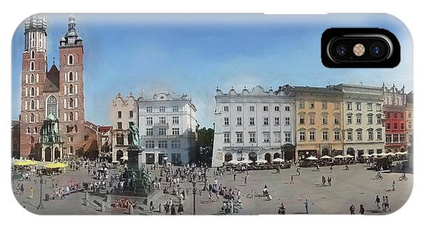 Krakow, Town Square IPhone Case