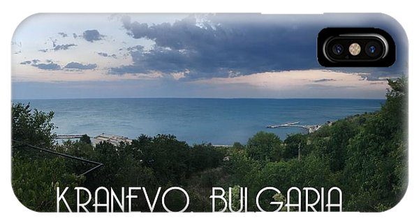Kranevo Bulgaria IPhone Case