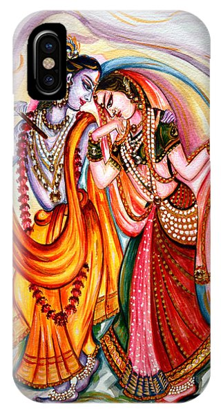 Krishna And Radha IPhone Case