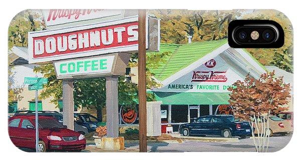 Krispy Kreme At Daytime IPhone Case