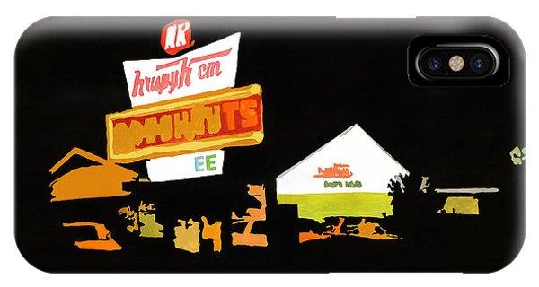Krispy Kreme At Night IPhone Case