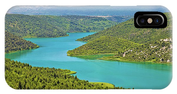 Krka River National Park View IPhone Case