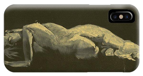 Kroki 2014 09 27_3figure Drawing White Chalk  IPhone Case