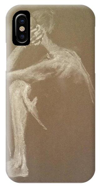 Kroki 2015 06 18_9 Figure Drawing White Chalk IPhone Case