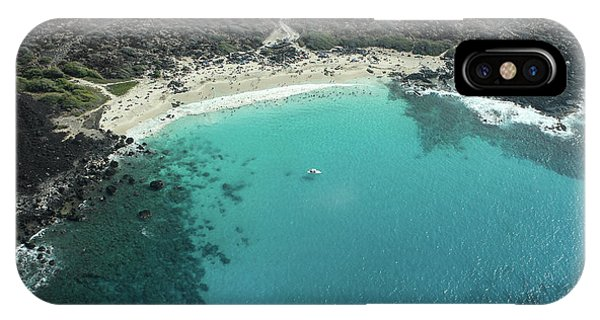 Kua Bay Aerial IPhone Case