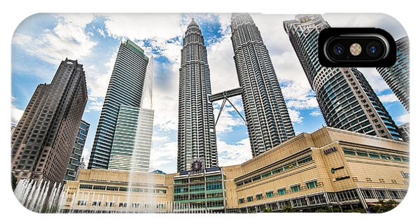 Kuala Lumpur Petronas Towers IPhone Case