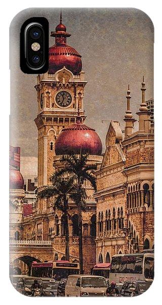 Kuala Lumpur, Malaysia - Red Onion Domes IPhone Case