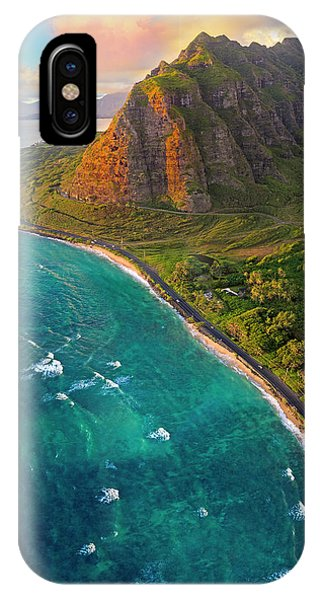 Oahu iPhone Case - Kualoa by James Roemmling