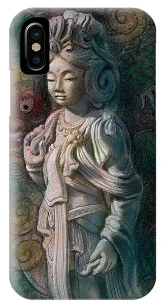 Kuan Yin Dragon IPhone Case