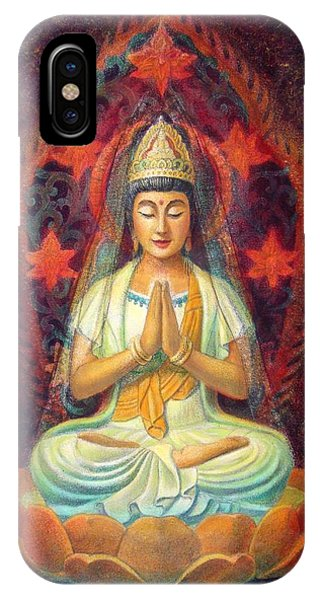 Kuan Yin's Prayer IPhone Case