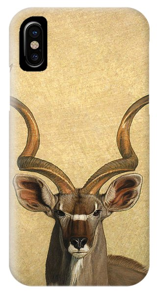 iPhone Case - Kudu by James W Johnson