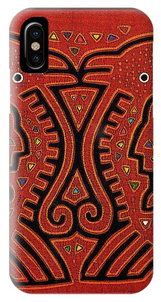 Kuna Indian Skate Fish IPhone Case