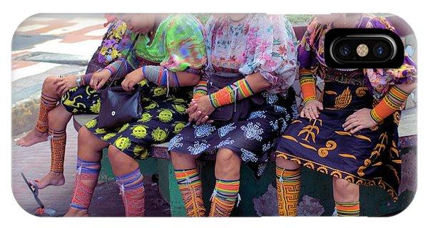 Kuna Women Resting Feet IPhone Case