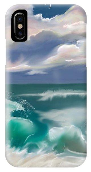 Kure Beach IPhone Case