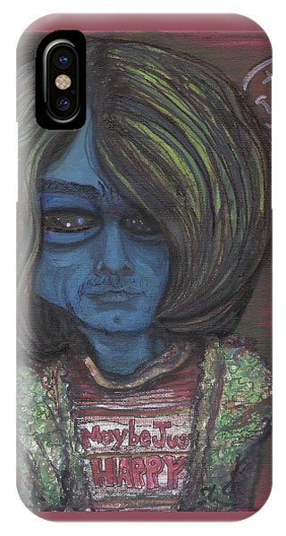Kurt Cobalien IPhone Case