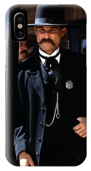 Kurt Russell As Wyatt Earp Tombstone Arizona 1993-2015 IPhone Case