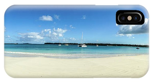 Kuto Bay Morning Pano IPhone Case
