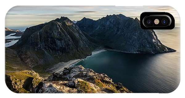 Kvalvika Beach IPhone Case