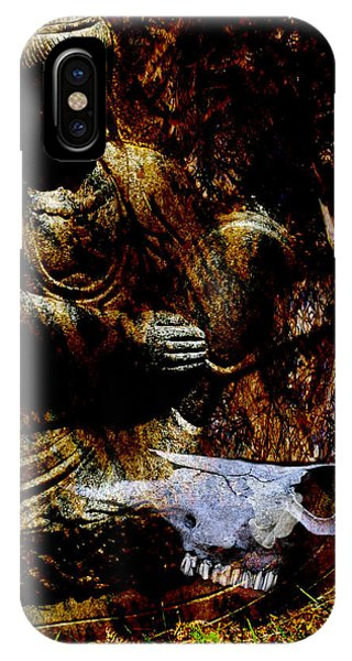 Kwan Yin Meditates IPhone Case