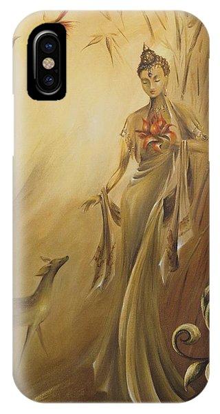 Kwan Yins Garden IPhone Case