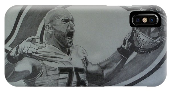 Kyle Long Of The Chicago Bears IPhone Case
