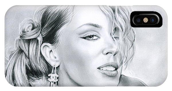Industry iPhone Case - Kylie Minogue by Greg Joens