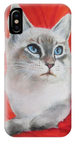 Kym's Kitty IPhone Case