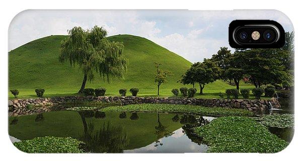 Kyongju, Tumuli Park IPhone Case
