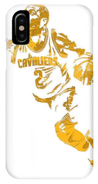 Kyrie Irving iPhone Case - Kyrie Irving Cleveland Cavaliers Pixel Art 11 by Joe Hamilton