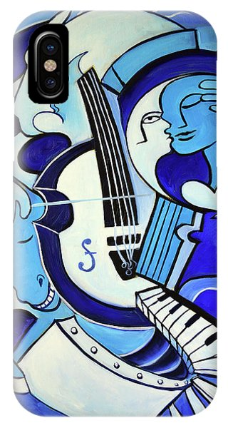 Abstract iPhone Case - L Amour Ou Quoi 2 by Valerie Vescovi