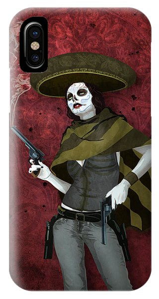 La Bandida Muerta IPhone Case