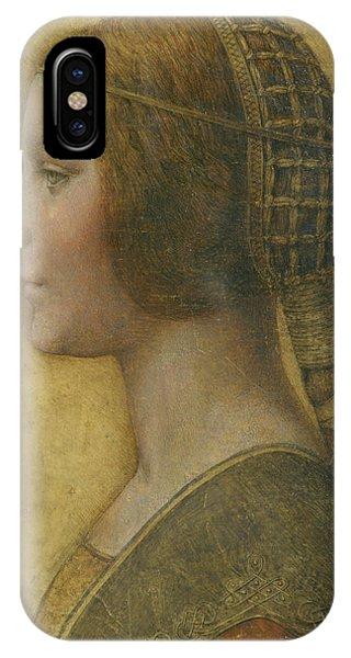 La Bella Principessa - 15th Century IPhone Case