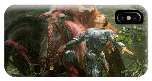 Knight iPhone Case - La Belle Dame Sans Merci by Sir Frank Dicksee