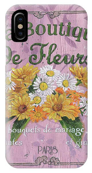 Bloom iPhone Case - La Botanique 1 by Debbie DeWitt