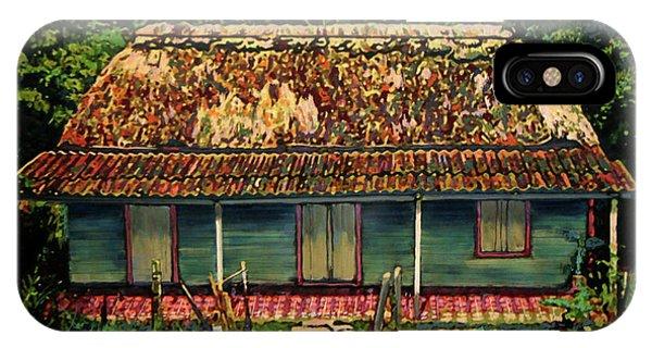 Porch iPhone Case - La Casita by Maria Arango