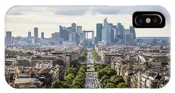 La Defense Paris IPhone Case