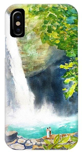 La Fortuna Waterfall IPhone Case