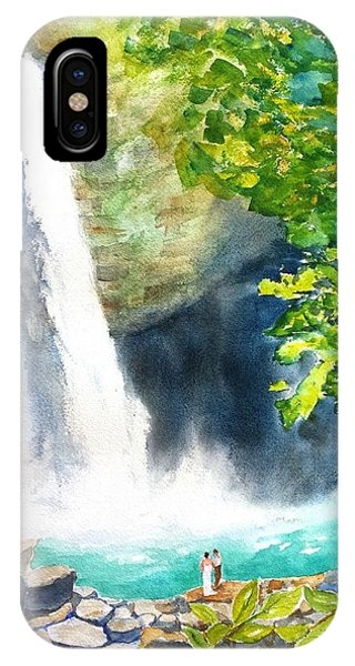 La Fortuna Waterfall IPhone Case